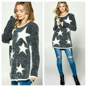 Sweaters - Heavenly soft star sweater
